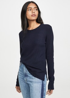 James Perse Crew Neck Cashmere Sweater