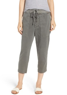 James Perse Crop Cargo Pants