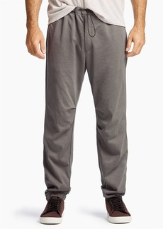 James Perse CRUMPLED TRICOT TRACK PANT