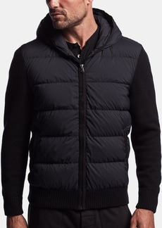 James Perse DOWN HOODED SWEATER JACKET