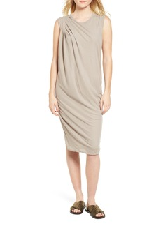 James Perse Draped Midi Dress