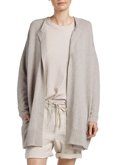 James Perse Drop Shoulder Open Cardigan