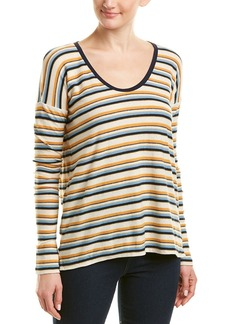 James Perse Dropped-Shoulder Sleeve Top