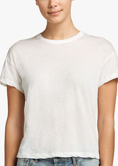 James Perse FEATHER COTTON LINEN VINTAGE TEE