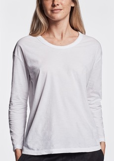 James Perse FEATHERWEIGHT JERSEY CREW