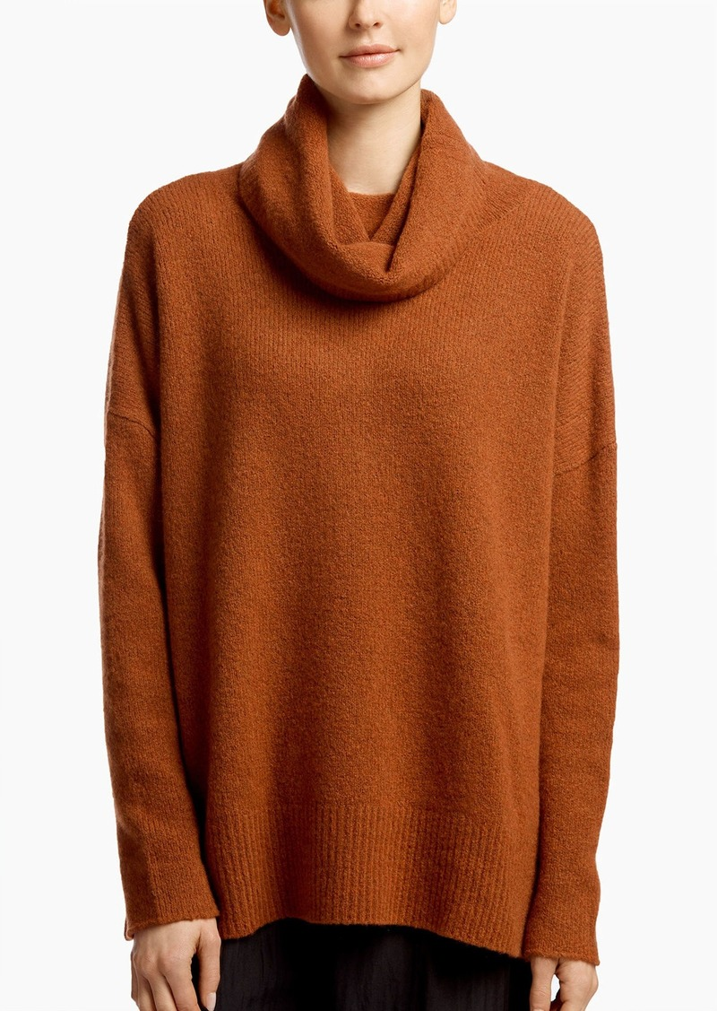 James Perse FELTED CASHMERE TURTLENECK