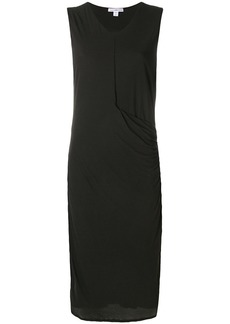James Perse fitted jersey dress - Grey