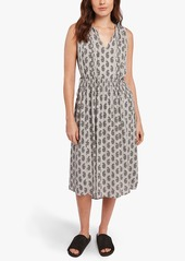 James Perse FLORAL PAISLEY PEASANT DRESS