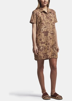 James Perse FLORAL PRINT POCKET SHIRT DRESS