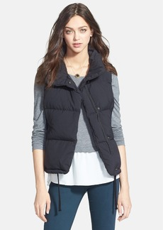 James Perse Funnel Neck Down Vest (Nordstrom Exclusive)