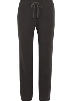 James Perse Genie cotton-terry track pants