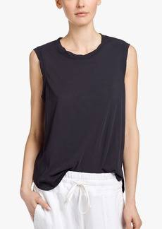 James Perse GLASS COTTON MUSCLE TANK