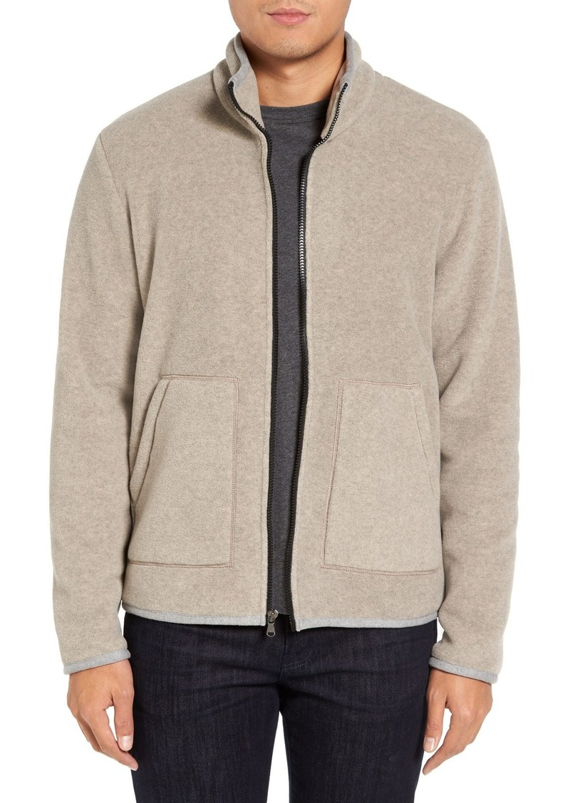 James Perse Heavy Polar Fleece Full Zip Jacket