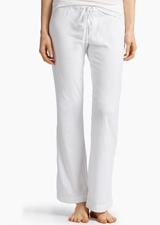 James Perse KNIT JERSEY PAJAMA PANT