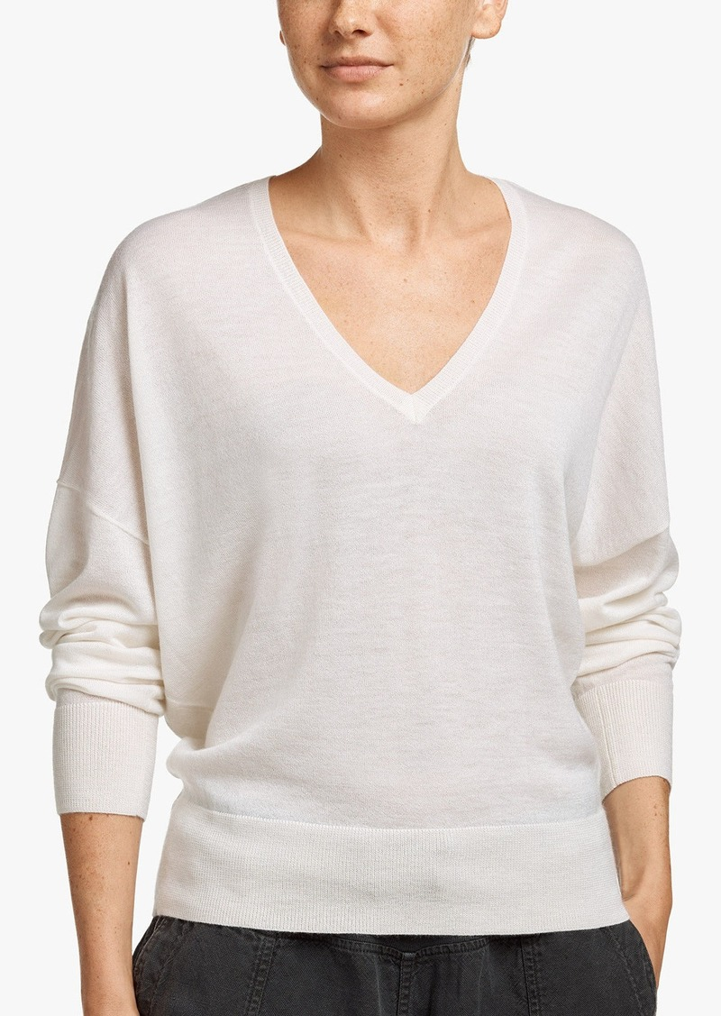 James Perse LIGHTWEIGHT CASHMERE SWEATER