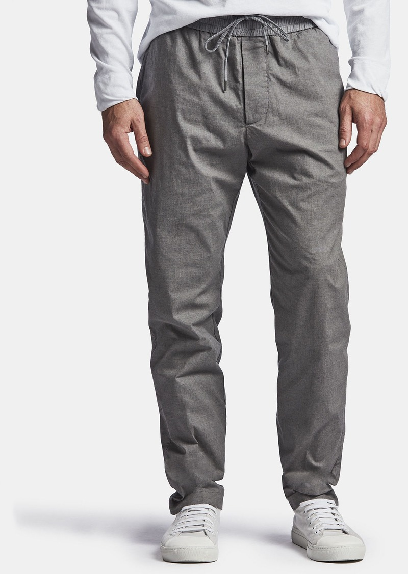 James Perse LIGHTWEIGHT PRINTED FLANNEL PANT