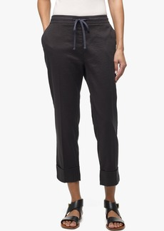James Perse LINEN COTTON CUFFED PANT