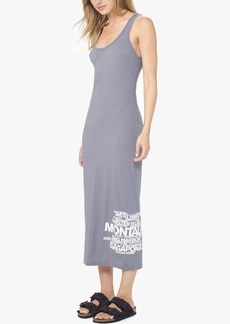 James Perse LONG ISLAND BEACHES GRAPHIC DRESS