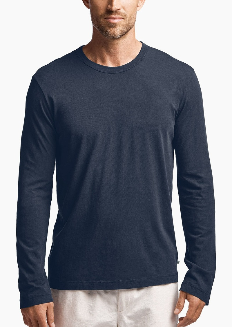 James perse james perse long sleeve crew neck t shirts for James perse t shirts sale