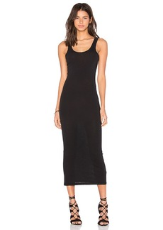 James Perse Long Slip Dress in Black. - size 0 (XXS/XS) (also in 1 (XS/S),2 (S/M),3 (M/L))