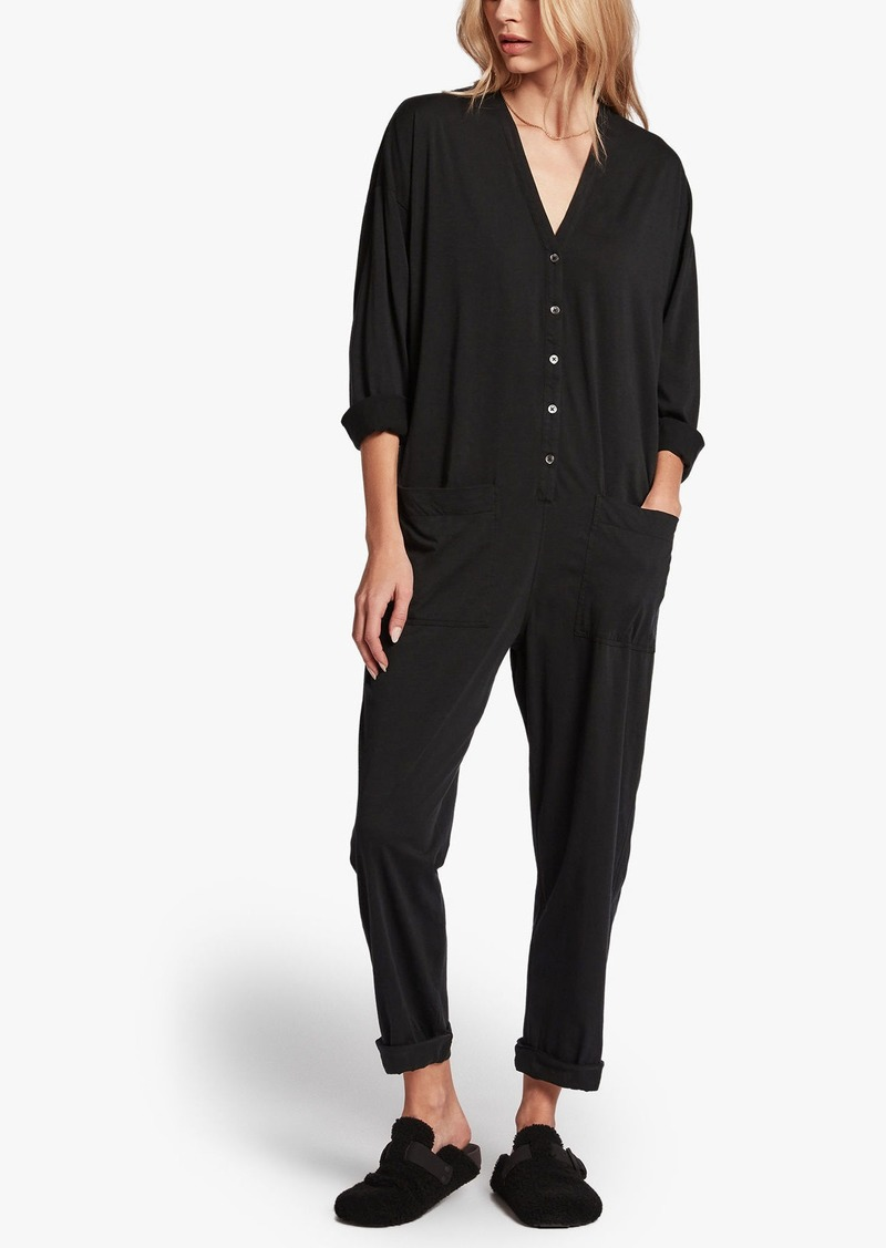 James Perse LUXE LOTUS JERSEY LOUNGE JUMPER