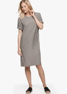 James Perse MELANGE T-SHIRT DRESS - ONLINE EXCLUSIVE