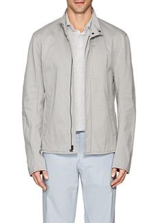 James Perse Men's Cotton-Blend Jersey Biker Jacket