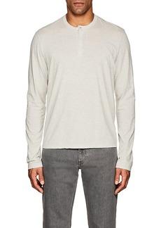 James Perse Men's Cotton-Blend Jersey Henley