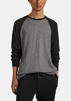 James Perse Men's Cotton-Cashmere Crewneck Sweater