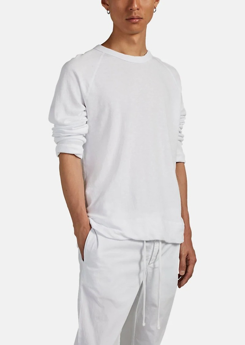 James Perse Men's Cotton Crewneck Sweatshirt