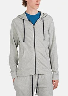 James Perse Men's Cotton French Terry Zip-Front Hoodie