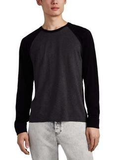James Perse Men's Cotton Jersey Baseball T-Shirt