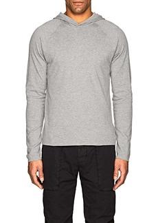 James Perse Men's Cotton Jersey Reversible Hoodie