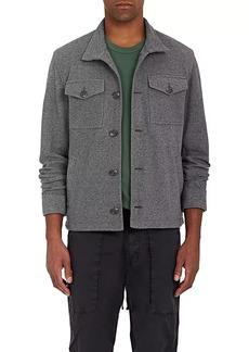 James Perse Men's Cotton Twill Trucker Jacket