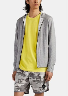 James Perse Men's Double-Faced Cotton Jersey Hoodie
