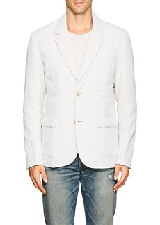 James Perse Men's Linen Down Two-Button Sportcoat