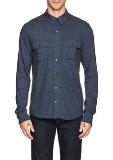 James Perse Men's Mélange Cotton Shirt