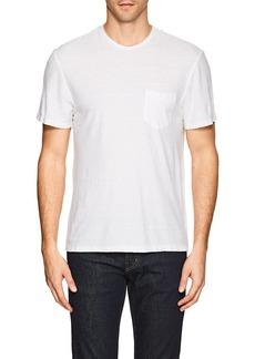 James Perse Men's Palm-Tree Cotton-Linen T-Shirt