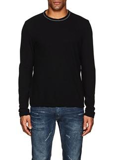 James Perse Men's Palm Tree-Print Cotton Long-Sleeve T-Shirt