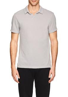 James Perse Men's Piqué Cotton Polo Shirt
