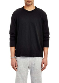 James Perse Men's Raglan Sleeve Long Sleeve Pullover