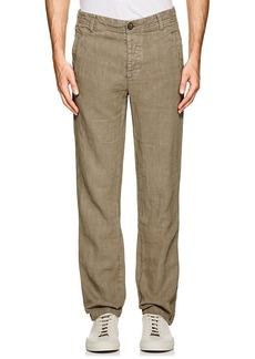 James Perse Men's Slub Linen Utility Pants