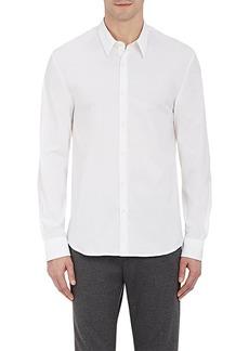 James Perse Men's Solid Poplin Shirt