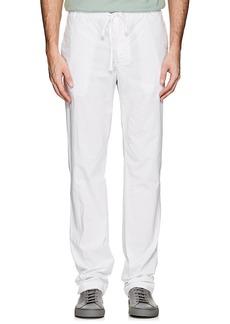 James Perse Men's Stretch-Cotton Poplin Drawstring Pants