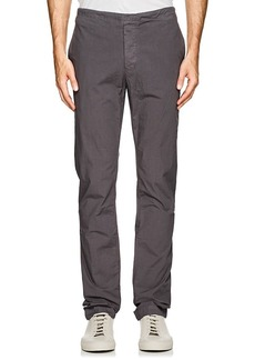 James Perse Men's Stretch-Cotton Poplin Slim Pants