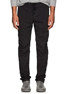 James Perse Men's Stretch-Cotton Poplin Utility Pants