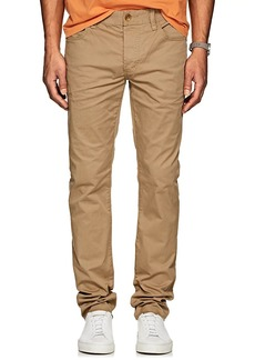 James Perse Men's Stretch-Cotton Twill Slim 5-Pocket Chinos
