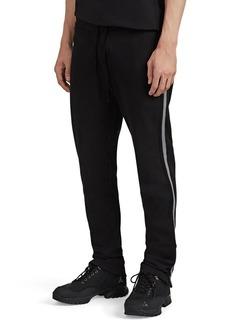 James Perse Men's Striped Cotton-Blend Drawstring Sweatpants