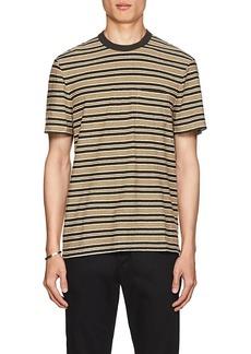 James Perse Men's Striped Slub Cotton T-Shirt