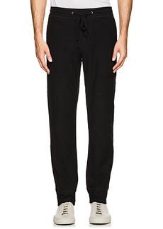 James Perse Men's Textured Stretch-Cotton Pants